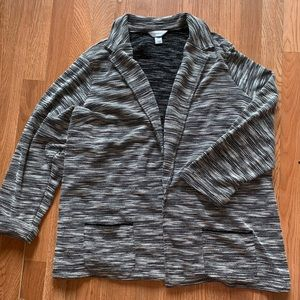 CJ Banks Open front sweater cardigan